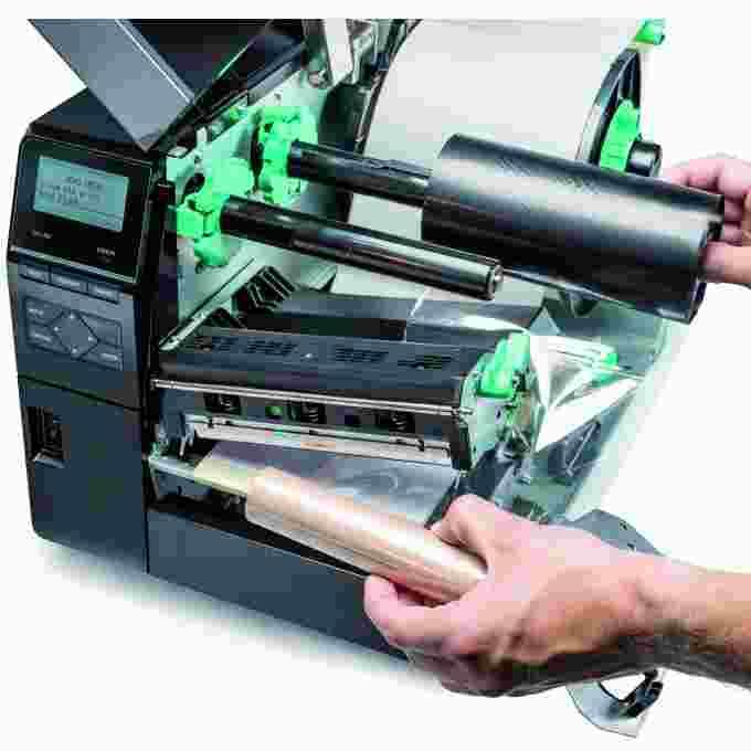 Thermotransferdrucker Industriedrucker Folie | MSM Kennzeichnungssysteme