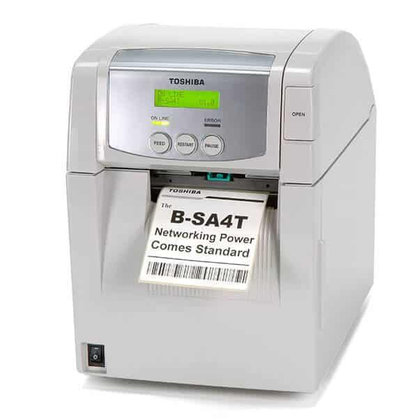 Thermotransferdrucker AS4TP-M Ektikettenrolle 1 | MSM Kennzeichnungssysteme