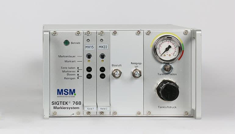 SG15 01a Rackgehaeuse Farbmarkiersystem| MSM Markiersysteme Kennzeichnungssysteme