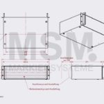 SG14 Skizze Rackgehaeuse Farbmarkiersystem| MSM Markiersysteme Kennzeichnungssysteme