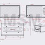 SG3 Skizze Desktop Gehaeuse Farbmarkiersystem| MSM Markiersysteme Kennzeichnungssysteme
