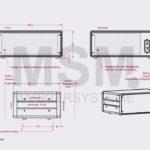 SG5 a Skizze Gehaeuse Farbmarkiersystem| MSM Markiersysteme Kennzeichnungssysteme