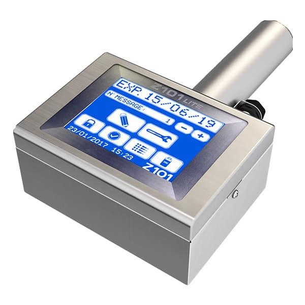 Z101-Lite Großschriftdrucker 7-Düsen Menue 2 | MSM Markiersysteme