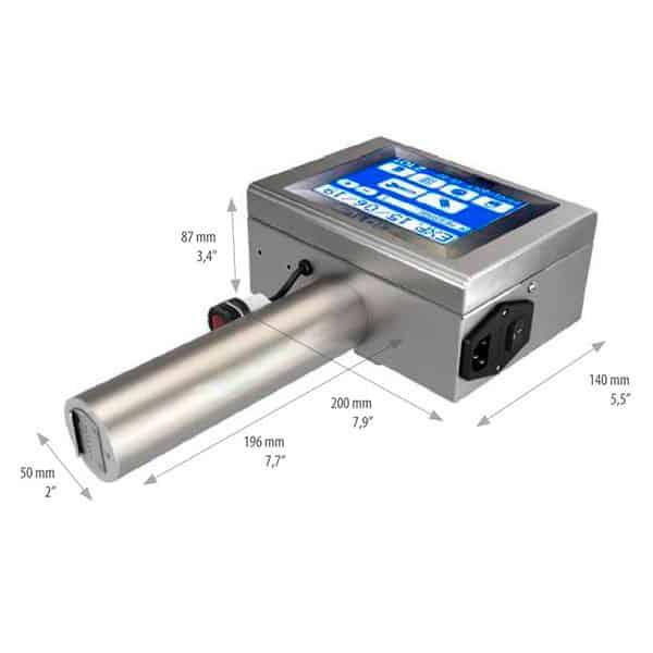 Z101-Lite Großschriftdrucker 7-Düsen 1 | MSM Markiersysteme