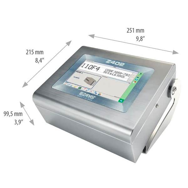Z402 Großschriftdrucker Tintenstrahldrucker 7-16-Düsen | MSM Markiersysteme
